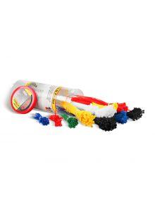 Cinchos de plástico Bote de plástico, 1000 pzas