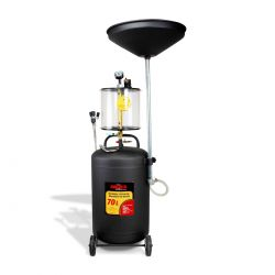 Recibidor Extractor de aceite neumático 70 lts