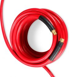 """Manguera de PVC para aire a presión 1/2"""" x 20 m conexión 1/2"""" NPT"""