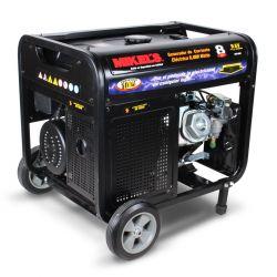 Generador de corriente eléctrica motor 4 tiempos (8,000 W / 15 HP)