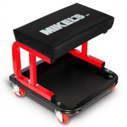 Banco con depósito para herramientas 4 ruedas 130 kg