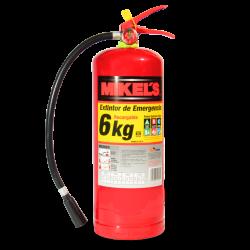 Extintor de emergencia 6 kg
